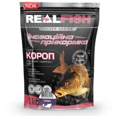 Прикормка Real Fish Карп Слива 1 кг