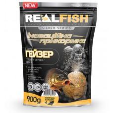 Прикормка Real Fish Гейзер Кукуруза Карамель 0.9 кг