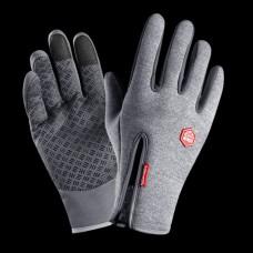 Перчатки водоотталкивающие B-Forest серые XL