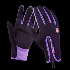 Перчатки водоотталкивающие B-Forest сиреневые XL