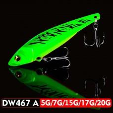 Блесна 3D EyesPencil Vib Blade DW467A 15г