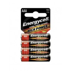 Батарейка Energycell Alkaline R03-4SB AAA - 1 шт.