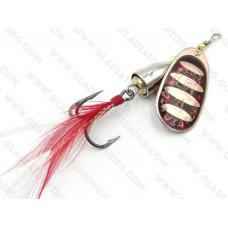 Блесна Gladiator вертушка (колокол) 8001 №4 #006 10г